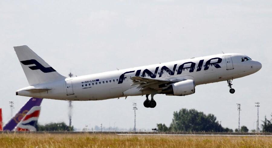 Arkiv: Finnair vil veje passagerer.