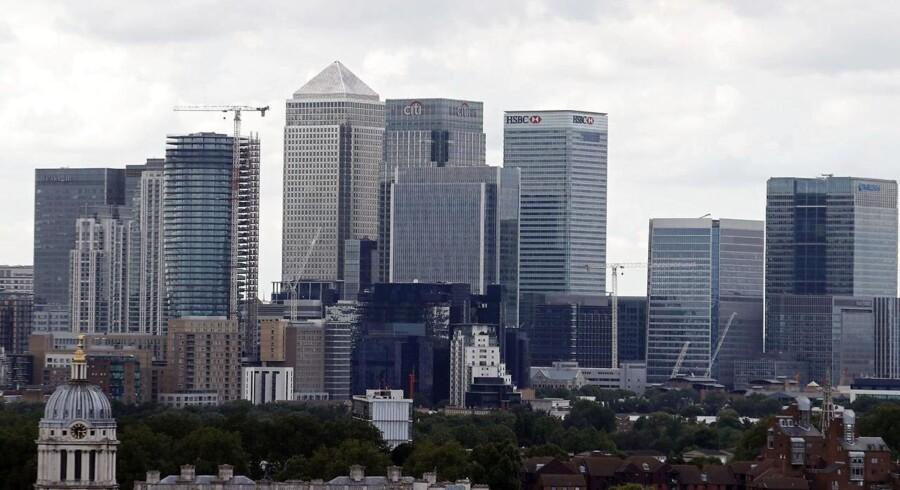 Ikke så meget at grine af i Londons finanssektor
