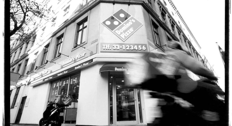 Arkivfoto: Pizzaer fra Domino's Pizza Group har ikke vækket appetitten hos helt så mange briter som ventet i årets første uger.