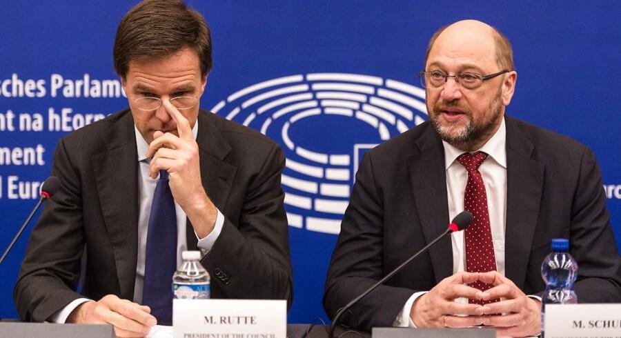 - Lad mig sige det lige ud: Det nuværende antal er ikke holdbart. Vi har snart ikke mere tid tilbage, siger Mark Rutte under en debat i Europaparlamentet om det hollandske formandskabsprogram.