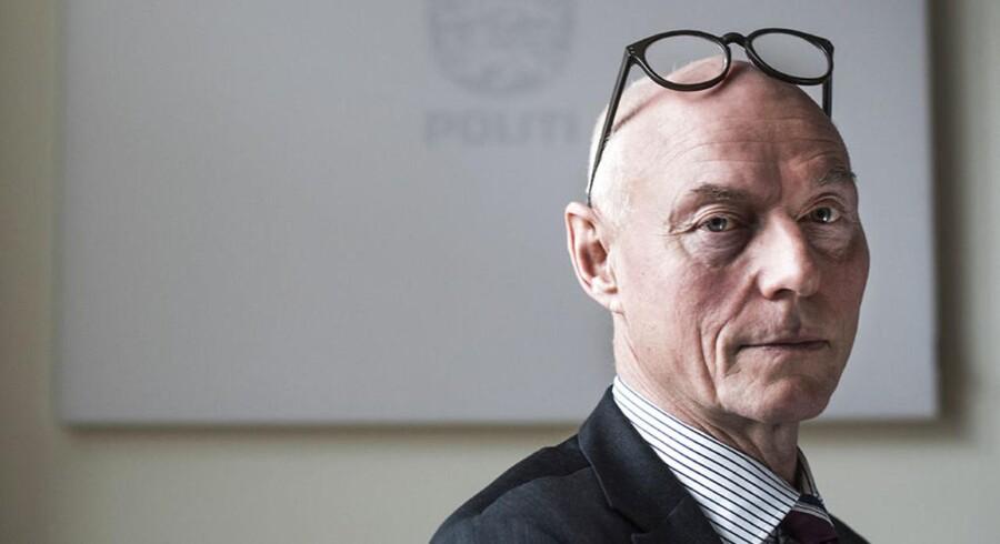 Rigspolitichef Jens Henrik Højbjerg. Arkivfoto.