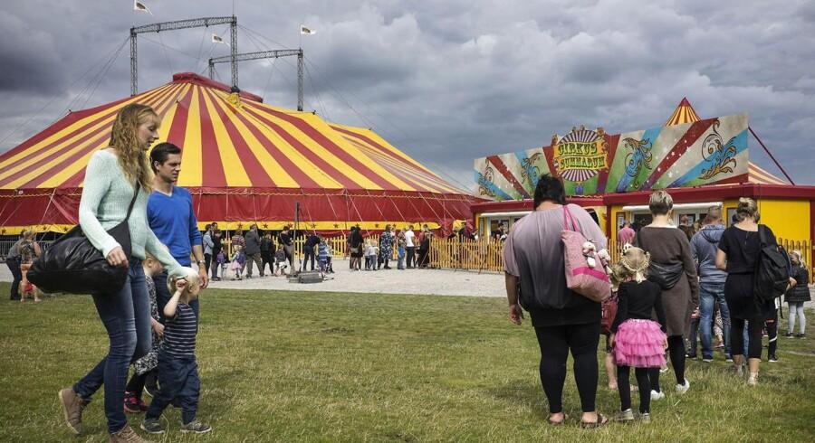 Cirkus Summarum spiller i juli og august i København og Aarhus.
