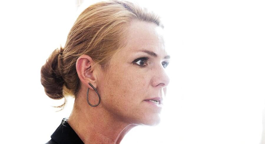 Arkivfoto. Udlændinge-, integrations- og boligminister Inger Støjberg på Christiansborg onsdag den 26. august 2015.