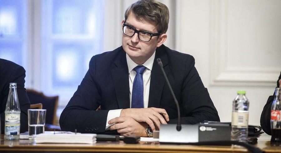 Erhvervs- og vækstminister Troels Lund Poulsen (V). Arkivfoto.