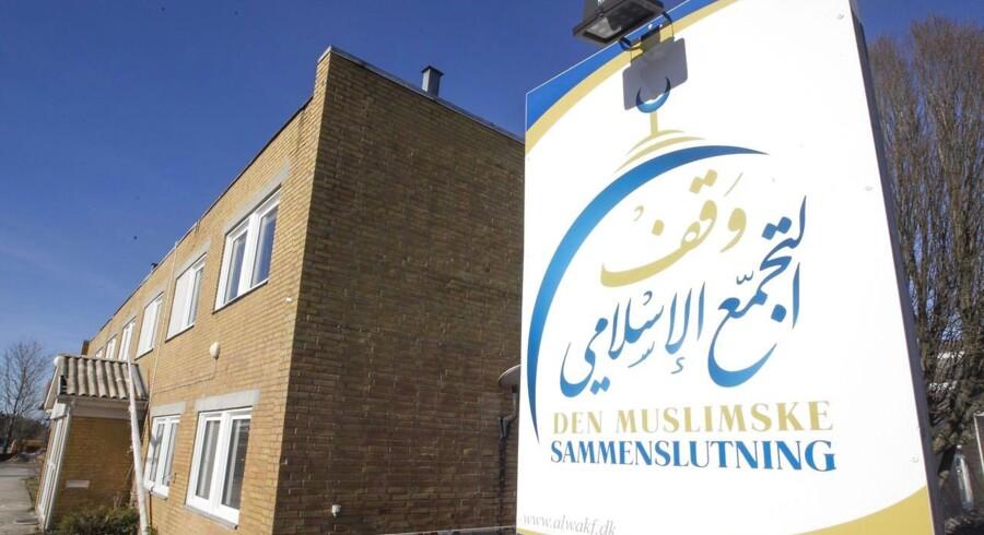 Moskeen på Grimhøjvej 7 i Aarhus.