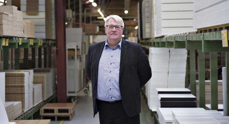 Ole Lund Andersen er adm. direktør i Svane Køkkenet. Han beklager episoden med den falske Facebook-side.