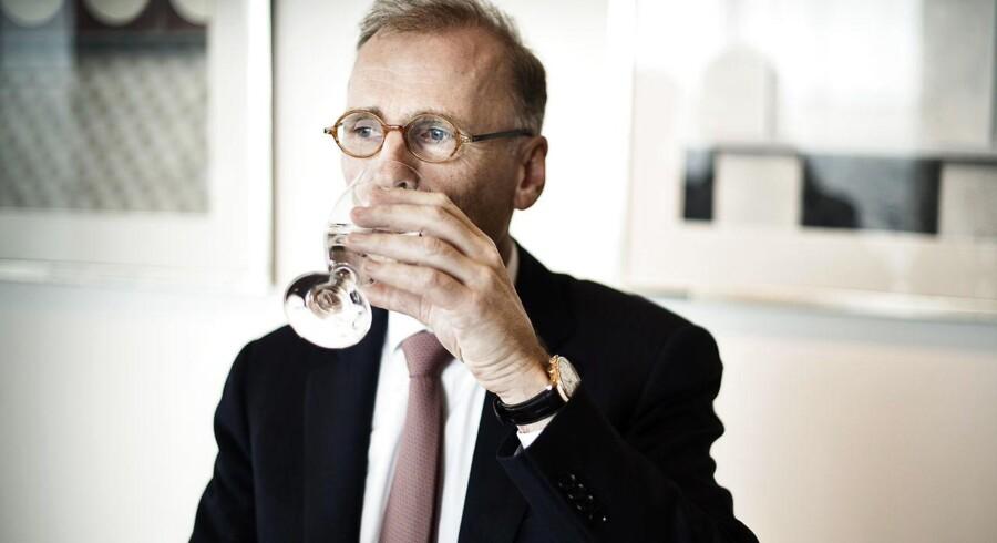 Carlsbergs' CEO Cees't Hart.