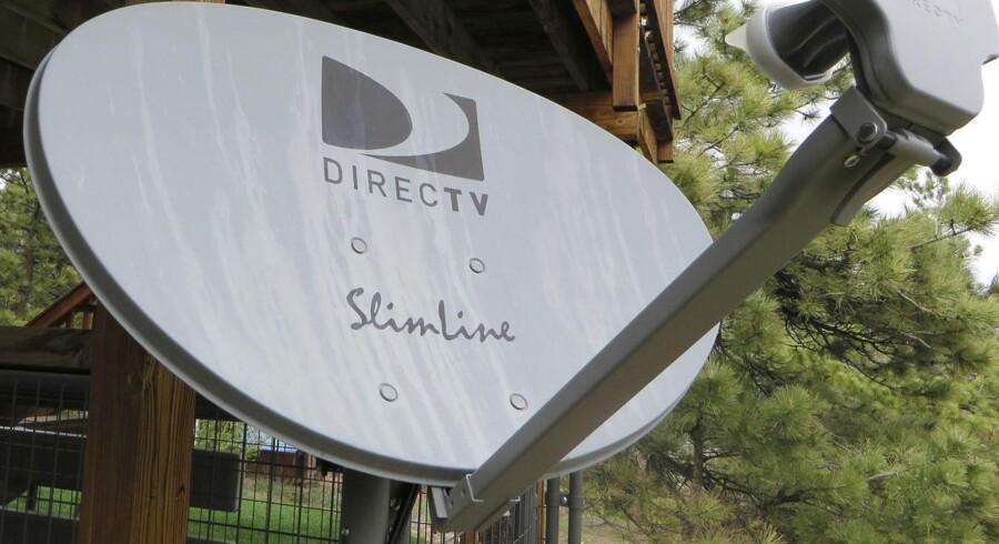 Betalings-TV-leverandøren Directv, som er USAs største satellit-TV-leverandør, bliver nu købt af landets næststørste teleselskab. Foto: Rick Wilking, Reuters/Scanpix