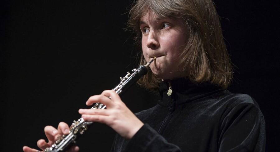 Clara May Teahan var en af guldmedaljevinderne ved dette års Berlingskes Klassiske Musikkokurrence. Foto: Claus Bech