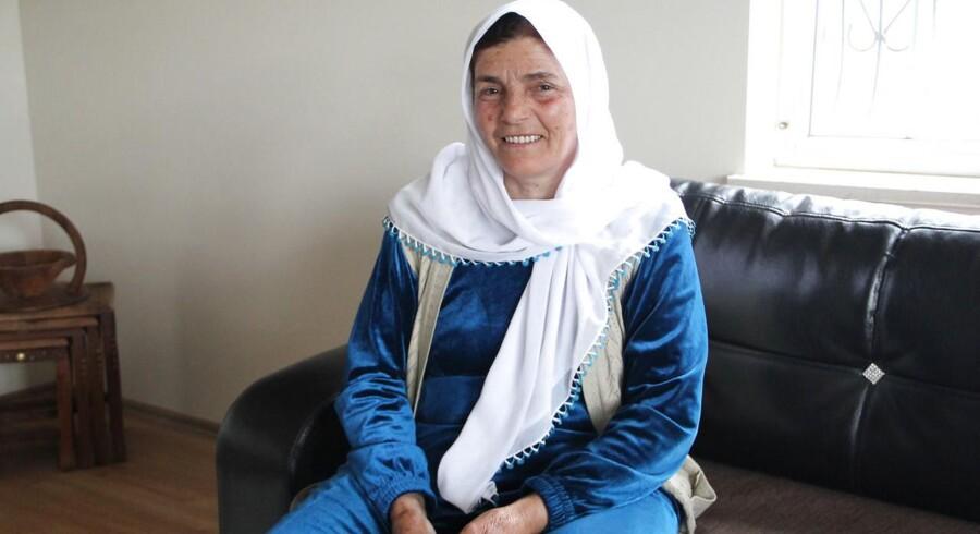 60-Årige Vasfiye Kiye har 12 børn. Grunden til at hun har fået så mange børn er, at familien arbejder i landbruget og derfor har haft brug for arbejdskraft. Desuden er der for hendes generation stor prestige i at få mange børn.