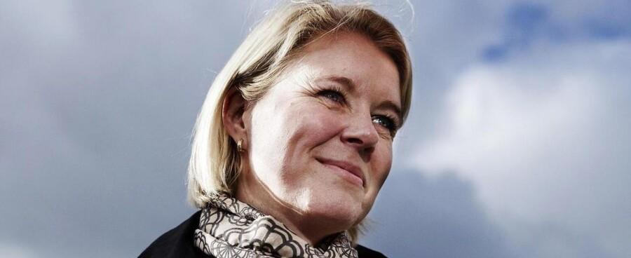Venstres spidskandidat i København, Pia Allerslev, kender ikke det debatselskab, som har givet penge til hendes valgkampagne.
