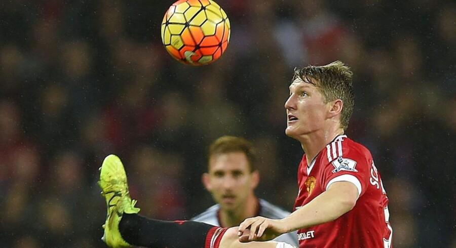 Manchester United's Bastian Schweinsteiger.