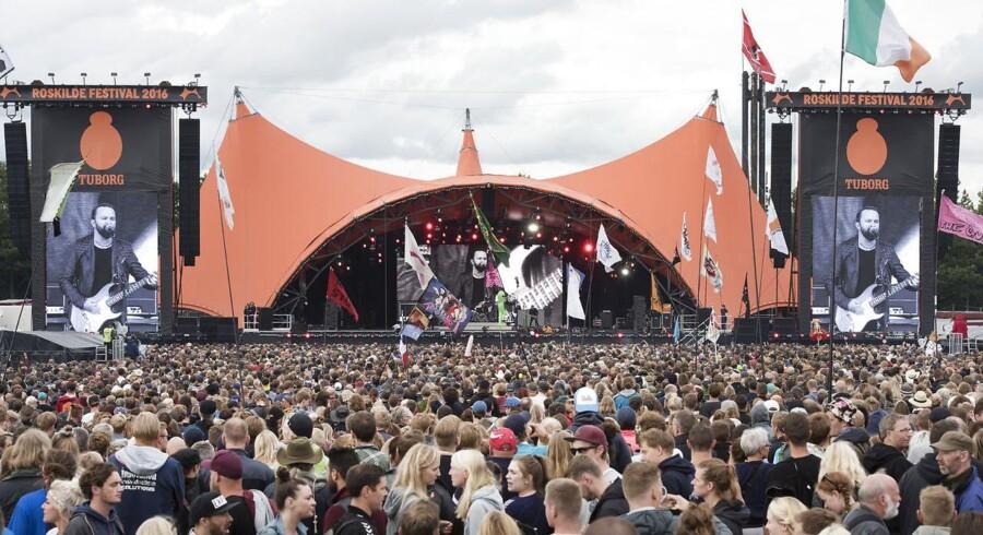 Svenske The Hellacopters skal spille i stedet for amerikanske Blink-182 på årets Roskilde Festival. (Photo: Torben Christensen / Scanpix Denmark 2016)
