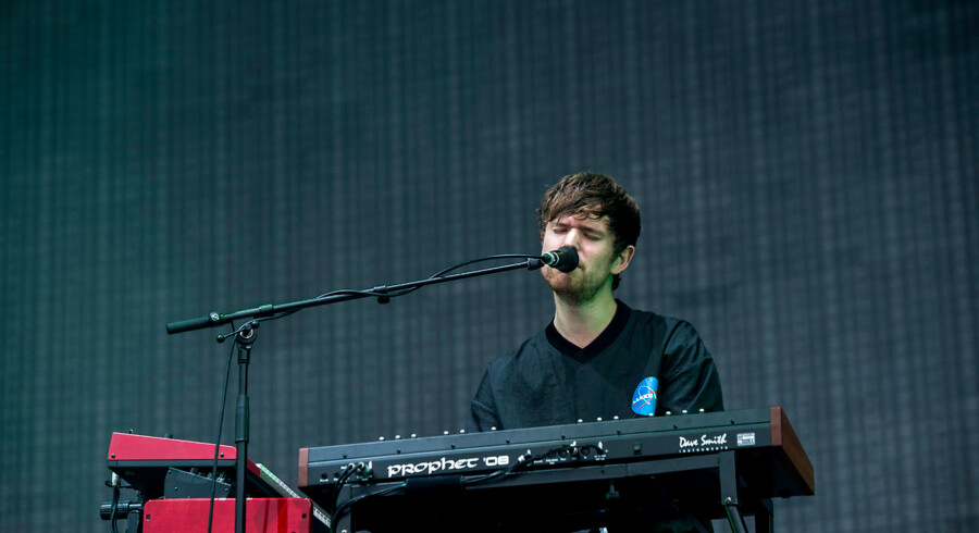 James Blake på Northside 2017