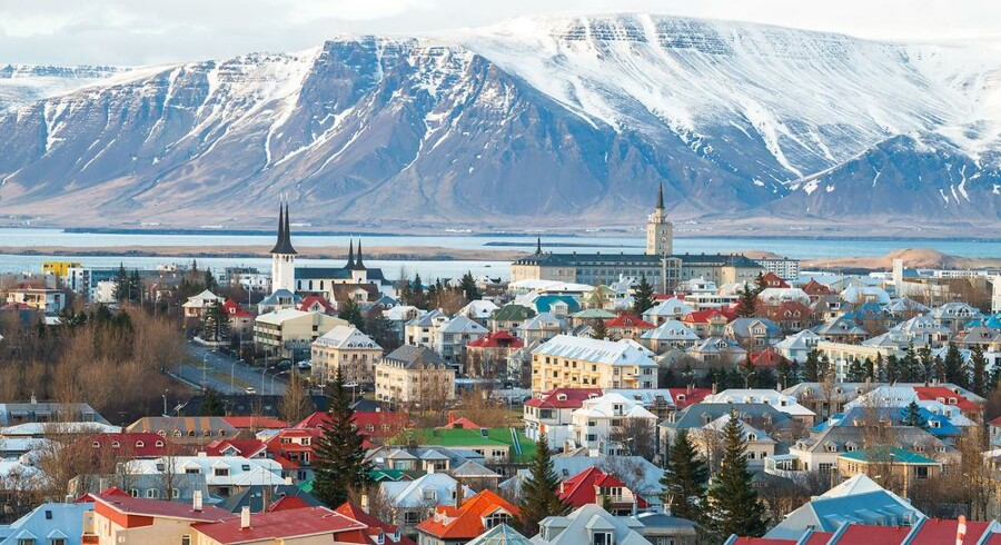 Den islandske hovedstad Reykjavík udgjorde rammerne om tirsdagens prisuddeling blandt nordiske iværksættervirksomheder. Arkivfoto: Iris/Scanpix