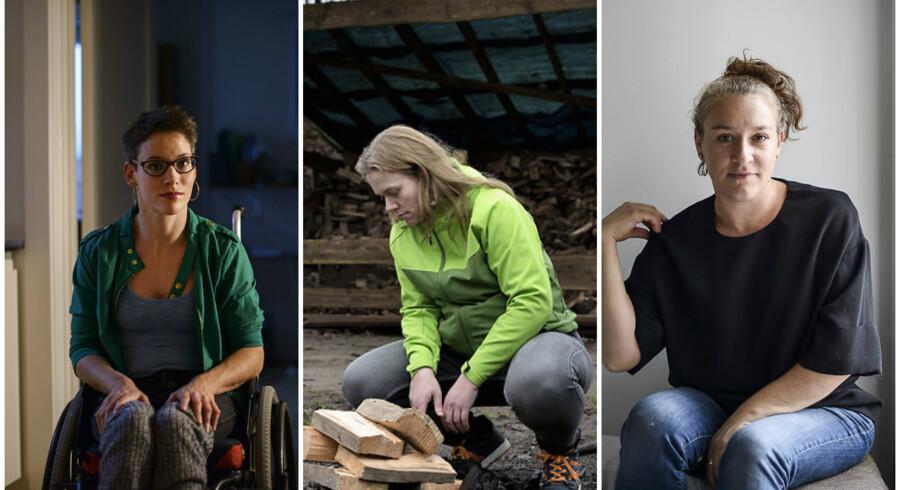 Cath Borch Jensen (V), Nina Rasmussen (M) og Vivien Batory (H)