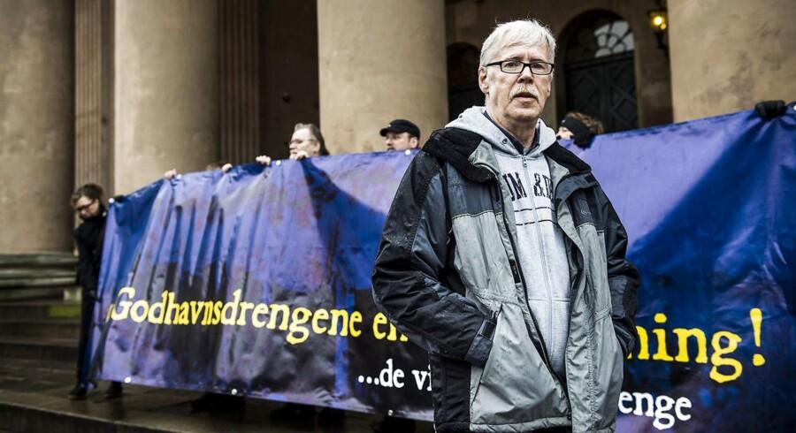 Arkivfoto: Poul Erik Rasmussen, der repræsenterer 170 medlemmer af Foreningen Godhavnsdrengene.