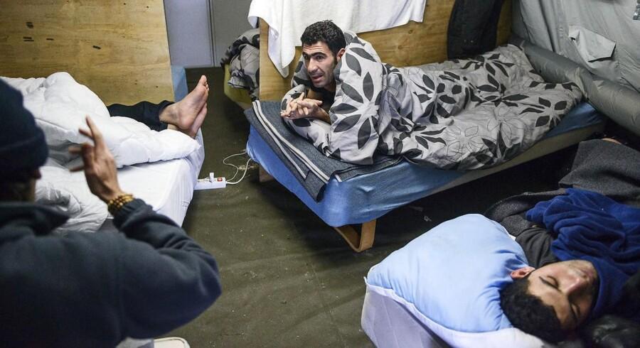 Teltlejre for flygtninge som her i Thisted er blot en af de mange store ændringer, der er sket på flygtningeområdet det seneste år. Foto: Sara Gangsted