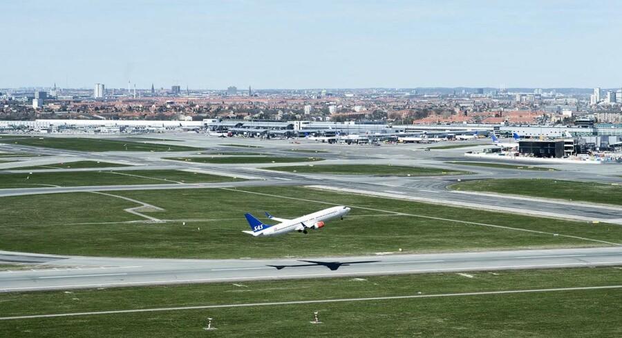Arkivfoto. Københavns Lufthavne (KBHL) havde en oplevelse af de sjældne i marts, hvor passagertallet faldt sammenlignet med samme måned året før.