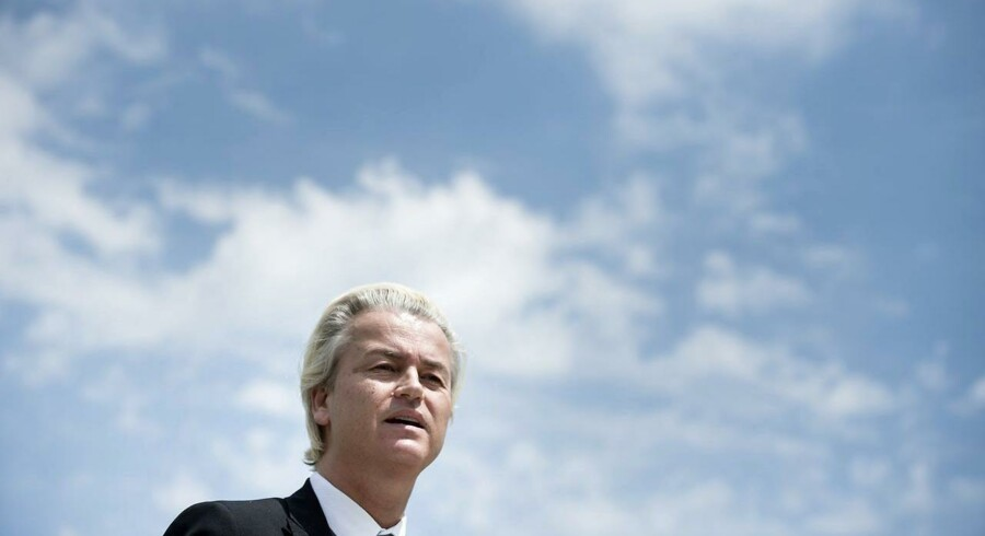 ARKIVFOTO. Den omstridte hollandske højrefløjspolitiker Geert Wilders har meldt sin ankomst til Folkemødet på Bornholm og forventer, at dansk politi beskytter ham mod terrorangreb.