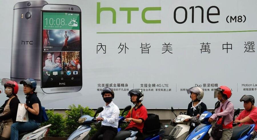 I regnskabet oplyser HTC, at en stor del af de fine resultater skyldes en højere efterspørgsel efter selskabets smartphones, skriver Bloomberg News.