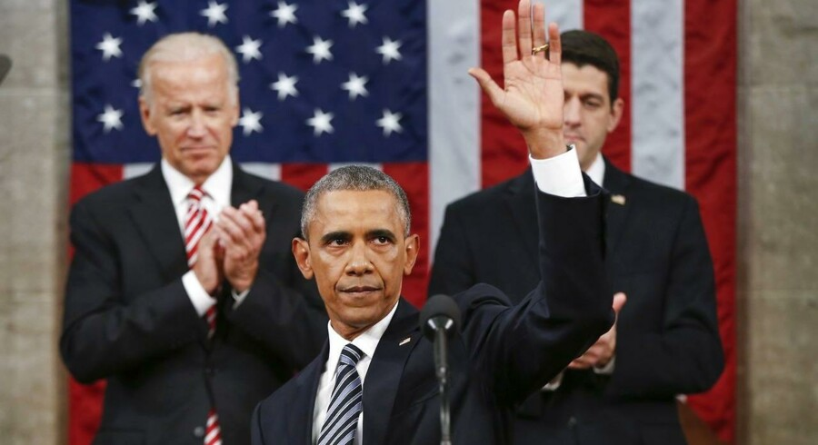 Præsident Barack Obama holdt torsdag den 12. januar 2016 sin sidste tale til nationen.