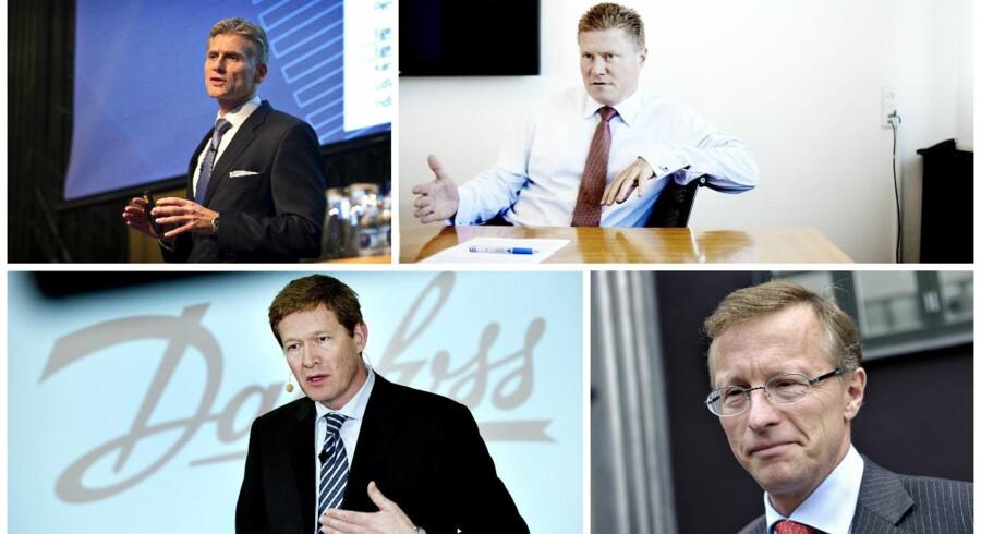 Om halvanden måned stemmer briterne om deres fortsatte medlemskab af EU, og topcheferne for Danmarks absolut største virksomheder følger med i spænding. Et britisk farvel vil nemlig få store konsekvenser for Europas og verdens økonomi, vurderer de. (Foto: Keld Navntoft/Scanpix 2015)