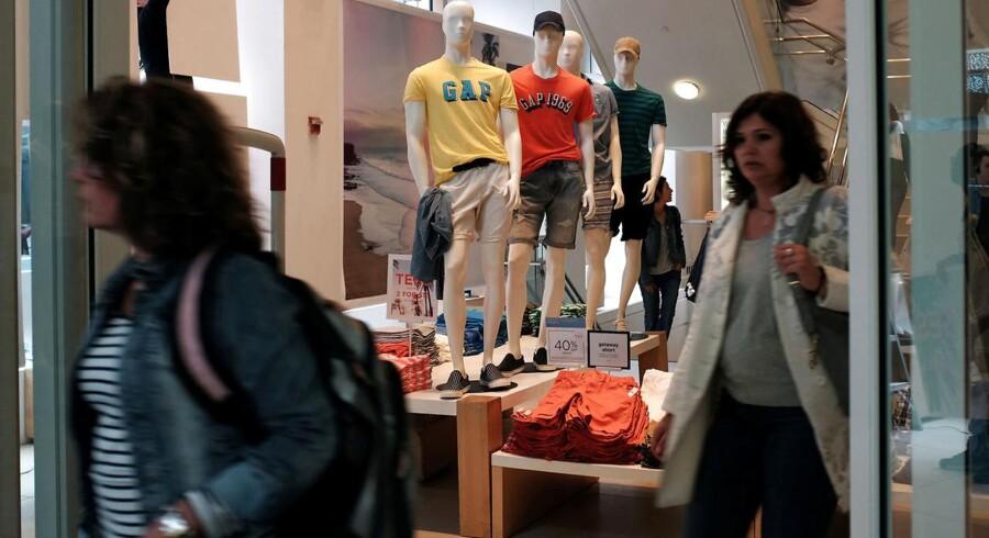Den amerikanske tøjkæde Gap tager nu fat på en omfattende omstrukturering.