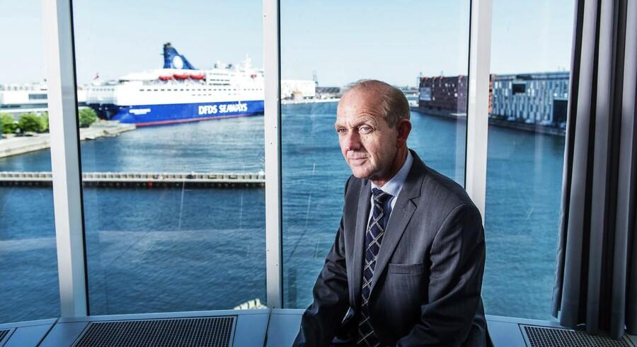 Søren Boe Mortensen, topchef i Alm. Brand, erkender, at han er konservativ i sine forventninger for selskabets fremtid. Men det er en nødvendighed