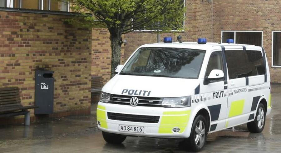 Politiet leder efter en 14-årig pige. Arkivfoto.