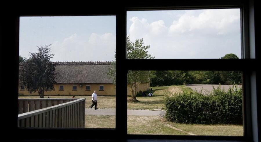 Asylcenteret i Auderød med cirka 700 beboerne lukker i næste uge.