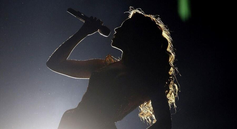 Beyoncé under turne i 2009, året efter udgivelsen af »I Am... Sasha Fierce«.
