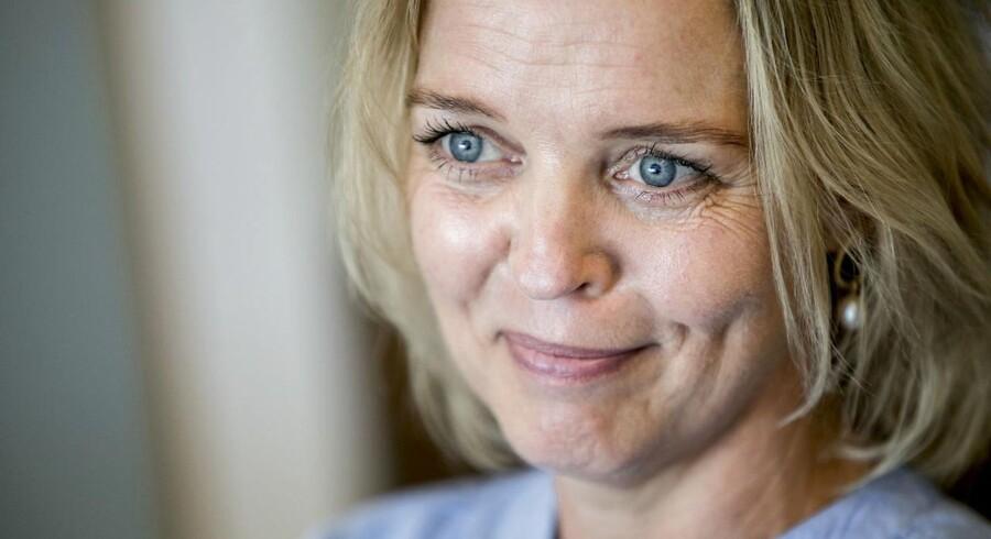 Afgående topchef hos TDC Pernille Erenbjerg.