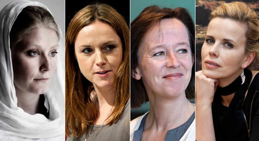 Nye ansigter i Kraks Blå bog: Puk Damsgård, Karen Hækkerup, Anne Dorthe Michelsen, Maiken Wexø.