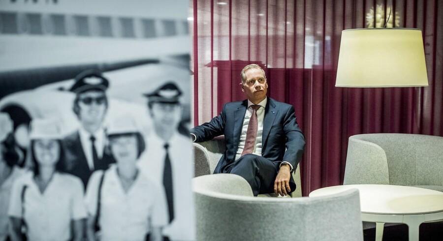 Adm. direktør i SAS, Rickard Gustafson, har netop offentliggjort sit bedste resultat i sin tid i flyselskabet.