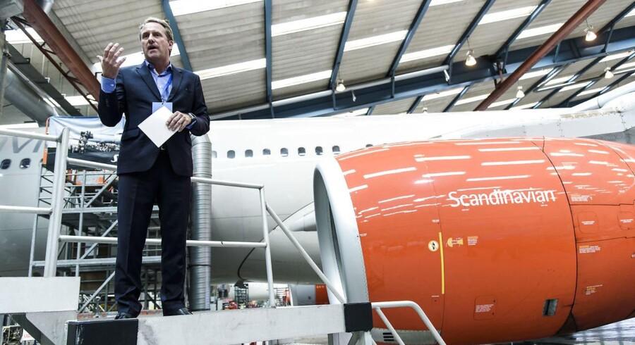 Lars Sandahl Sørensen, koncerndirektør i SAS, har netop præsenteret det bedste regnskab i SAS' i 20 år. Men der er ikke plads til at slappe af, fortæller han.