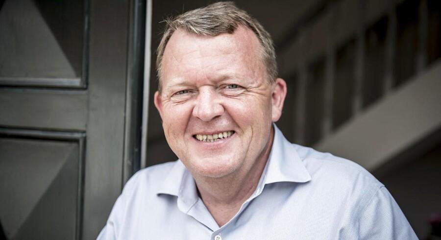 Statsminister Lars Løkke Rasmussen på Marienborg 28. maj 2018.