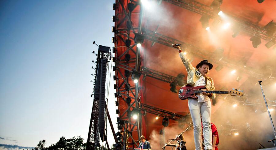 Arcade Fire på Orange lørdag aften.