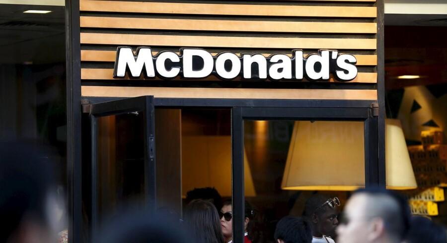 Den store internationale burgerkæde McDonald's er blevet indklaget for EU-Kommissionen, anklaget for at bryde konkurrencelovgivningen. Det skriver flere nyhedsbureauer.