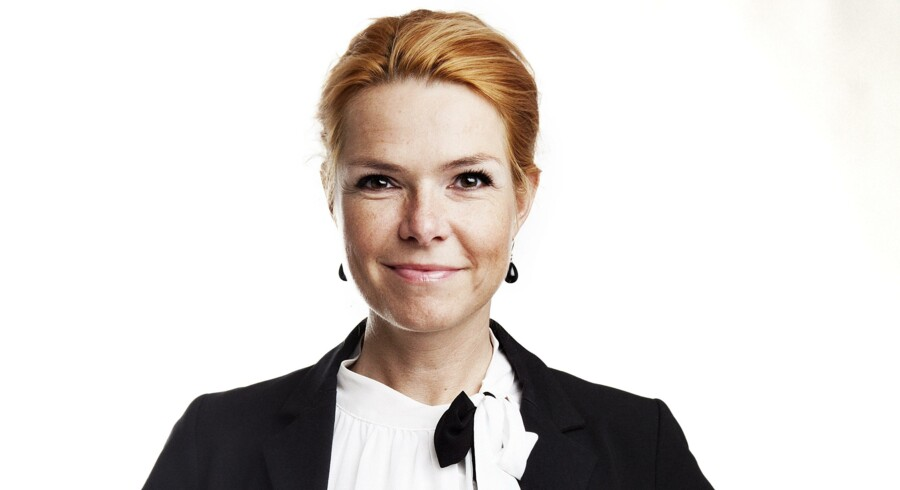 Inger Støjberg, politisk ordfører for Venstre, deler vandene. Arkivfoto: Camilla Rønde