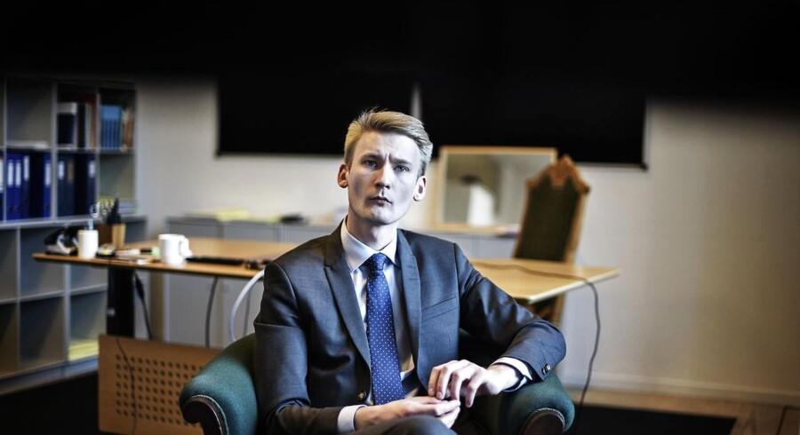 MF & retsordfører for Dansk Folkeparti Peter Kofod Poulsen.