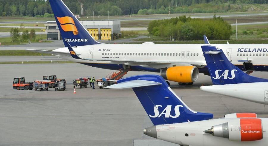 En strejke lurer, da SAS og piloternes fagforeninger endnu ikke er nået frem til en aftale.
