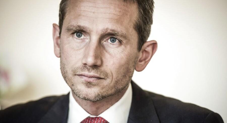 Udenrigsminister Kristian Jensen (V).