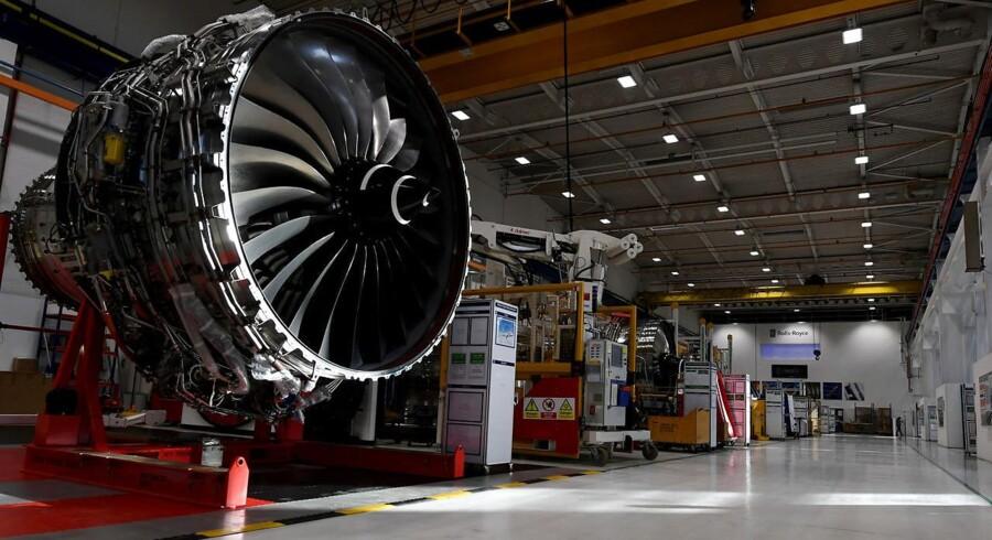 Arkivfoto: Rolls Royce Trent XWB.
