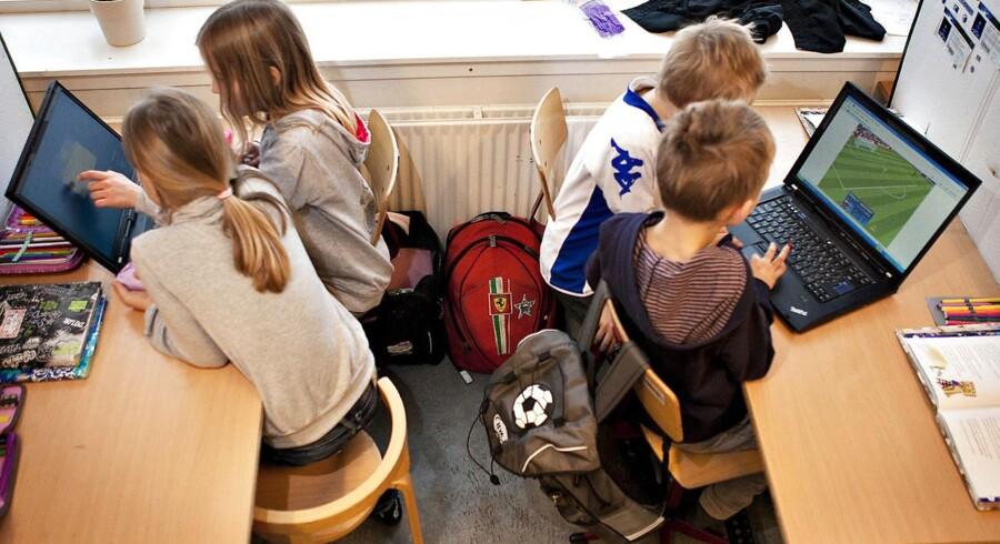 Forsker kalder ny international undersøgelse et »wakeupcall«. Mod forventning er danske elever nemlig blevet dårligere til at læse. Arkivfoto.