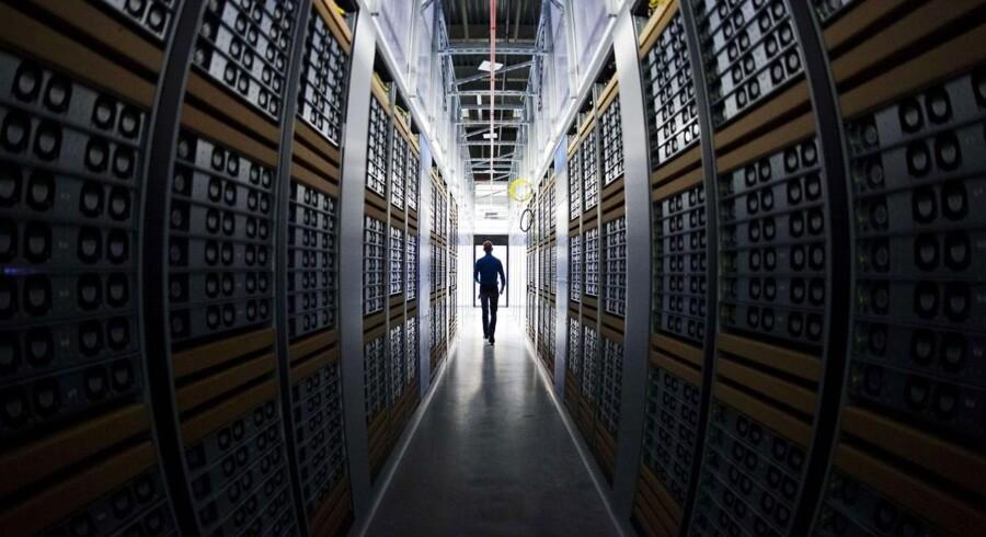Facebooks datacenter i Sverige.