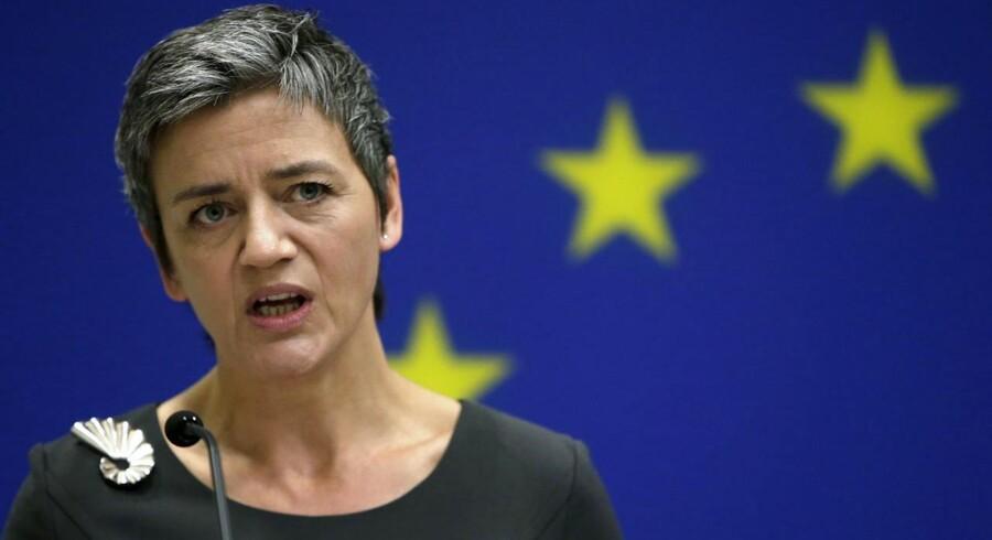 Margrethe Vestager, EUs konkurrencekommisær