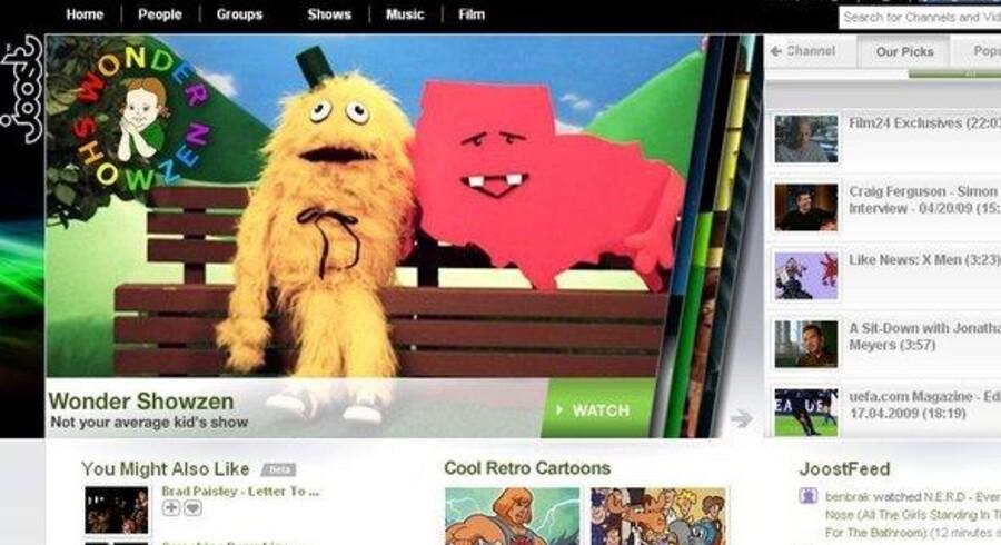 Citronen er presset i Skype-bagmændenes forsøg på at erobre net-TV-verdenen med Joost, som nu er blevet solgt.