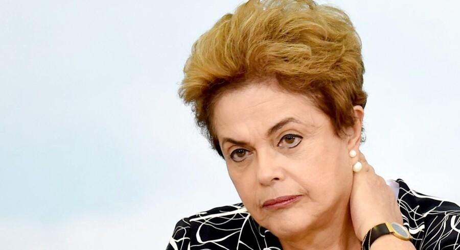 Den brasilianske præsident, Dilma Rousseff, kan ende for en rigsret.
