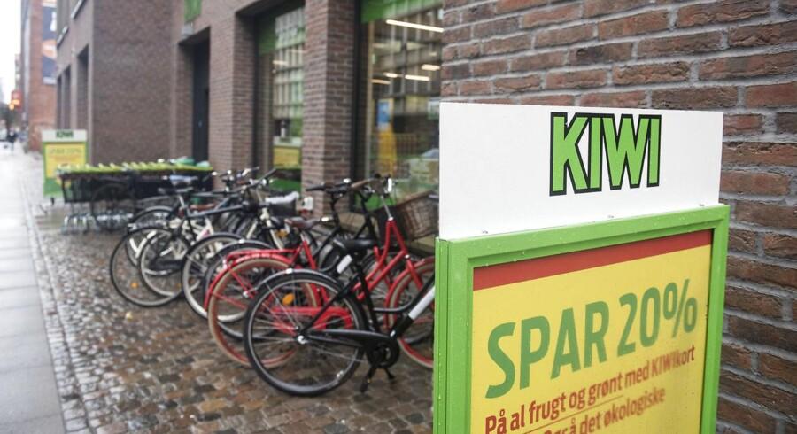 Kiwi lukker i Danmark.